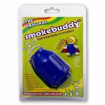 The Original Smoke Buddy Personal Air Filter Blue Color New! Free Shipping! STL1