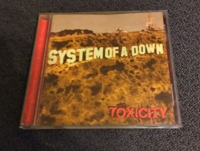 "SYSTEM of a DOWN **** TOXICITY****"" 2001 CD VGC"