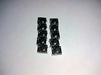 10-pcs 6x6x5mm Tactile Momentary Push Button Switch DIP, Arduino/Breadboard