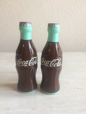 Vintage Coca Cola Salt And Pepper Shaker