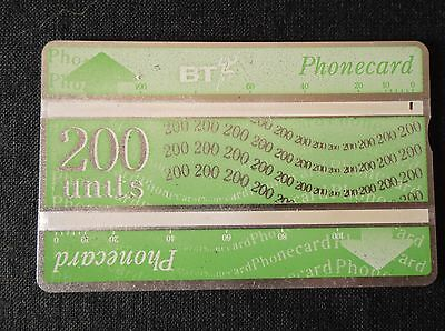 Old BT Phonecard 200 units