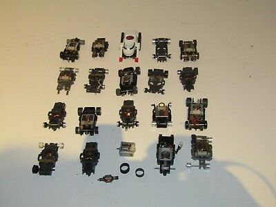 Aurora Afx/tomy/ideal Big Chassis Parts Lot (For Parts Or Repair)
