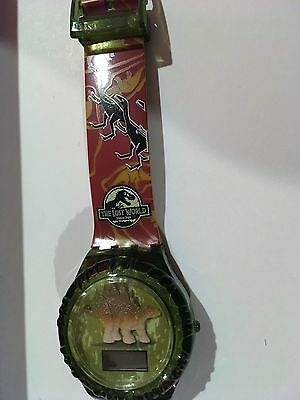 Jurassic Park the Lost World 3-D Stego Watch Burger King 1997