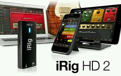 iRig HD 2 - Brand New Audio Interface for - iOS - USB compatible