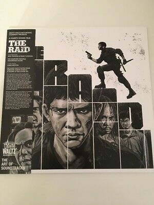 The Raid Soundtrack Death Waltz silver vinyl Includes Poster LP