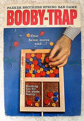 Vintage BOOBY TRAP Game 1965 Parker Brothers