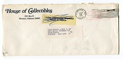 Canada / USA 1975 Postal Strike - Mail Service Suspended Cover to Vancouver BC