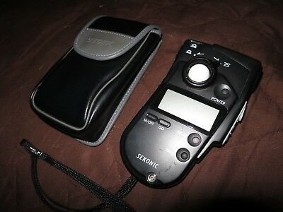 SEKONIC Multimaster Ambient Light Meter L-408 w/ Case