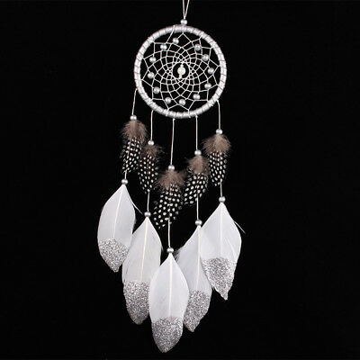 Silver Color Dream Catcher Wall Hanging Bedroom Decoration Ornament Accessories