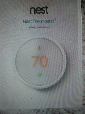 Nest - Thermostat E - White