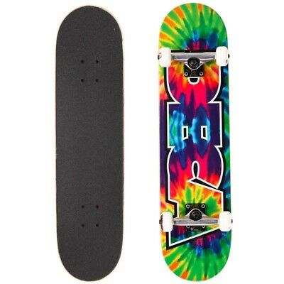 "Deca Skateboard Complete MINI Tie Dye 7"" Youth Size New Setup FREE POST"
