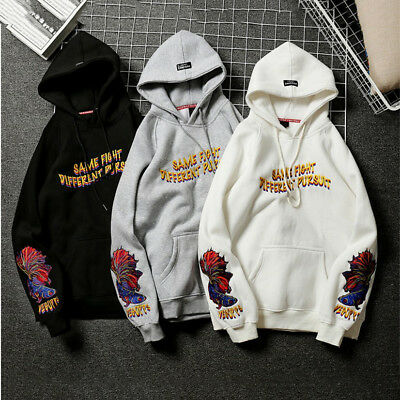 Men Hoodie Sweatshirt Sweater Hooded Tops Jacket Coat Outwear Pullover Oversize.