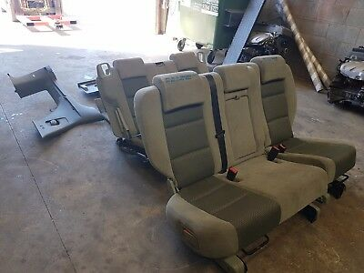 Ford Territory Sy Ts 2005 Mdl  7 Seater Conversion 2Nd & 3Rd Row Seats Tc: E1