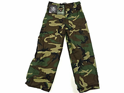 AdventureTech GORE-TEX Military Outerwear Reversible Hard Shell Pants Large Camo