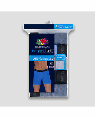Fruit of the Loom Men's Beyond Soft Boxer Briefs