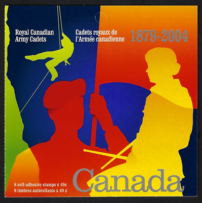 Canada Stamps — Booklet of 8 — Army Cadets #2025a X 2 (BK286) — MNH