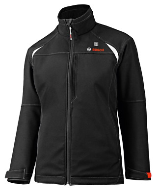 Bosch PSJ120-102 women's 12-volt Max Lithium-Ion Soft Shell Heated Jacket Kit wi