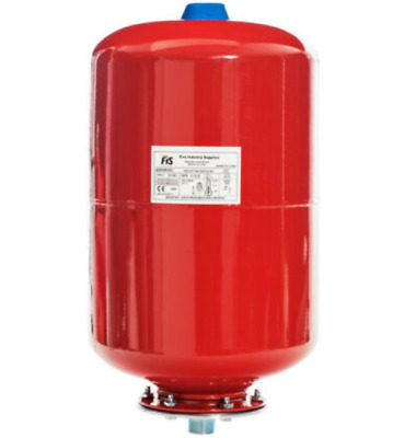 """Water Pressure Tank Vessel 24L in Red """"25Bar"""" or 24L in Stainless steel """"10Bar"""""""