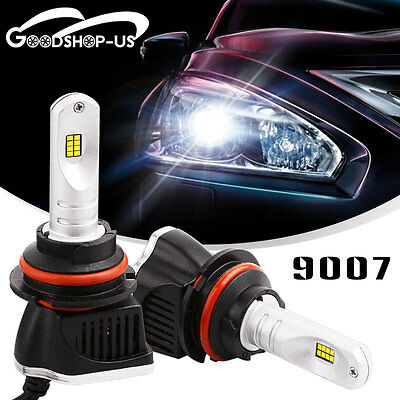 2x 9007 HB5 160W 16000LM LED Headlight Bulbs High/Low Beam light Lamp HID 6000K