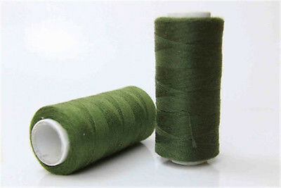 NEW 100% Polyester Standard Sewing thread each thread 200 Meters Army green