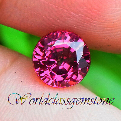 1.40Ct Stunning Pink Natural Malaya Garnet Round 6Mm
