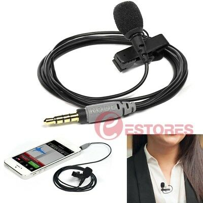 【AU】RODE SmartLav+ Broadcast Lavalier Mic Lapel Microphone For Smartphone iPhone