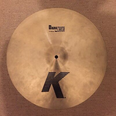 Zildjian 17' K Dark Thin Crash