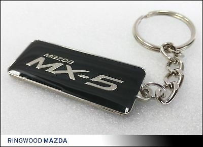 New Mazda MX-5 Keyring ND Miata Roadster Merchandise Gift Accessories 128.442A