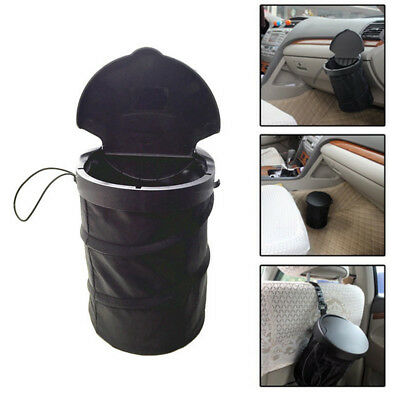 Voyage Voiture Poubelle Leakproof Foldable Pop-up garbage can avec couvercle