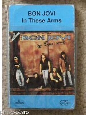 BON JOVI  In These Arms Rock Hard Metal Cassingle Caeette