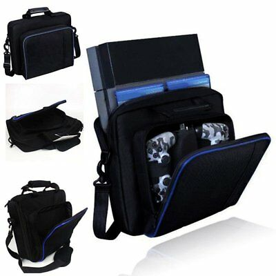 Carry Bag Travel Case For Sony PlayStation 4 PS4 Console Accessories LOT ZM