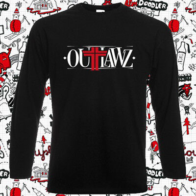 Outlawz Rap Hip Hop Logo Men/'s Black T-Shirt Size S M L XL XXL XXXL