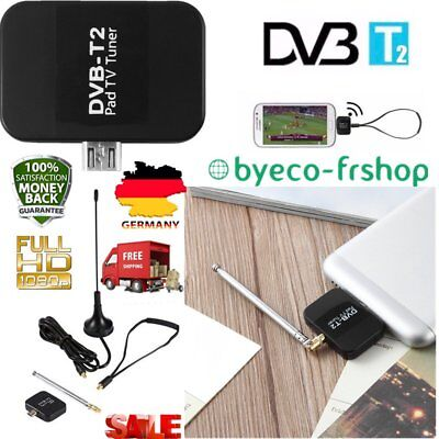 DVB-T2 Receptor Micro USB Tuner Mobile TV Receiver Stick For Android Tablet MRT3