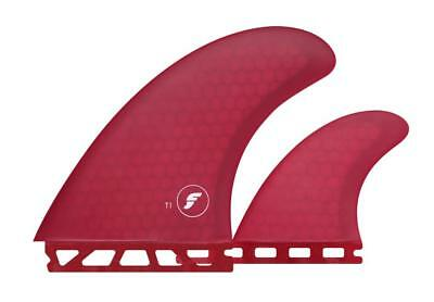 FT1 Honeycomb Twin Fin Set With Stabiliser Surfboard Fin From Futures Fins