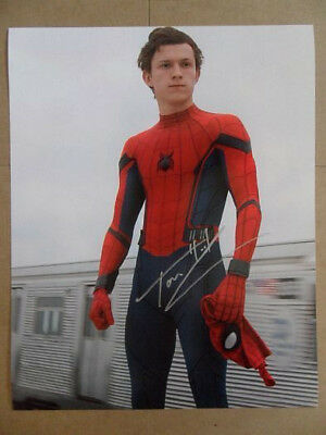 """Tom Holland Signed -Autographed Photo """"Peter"""""""