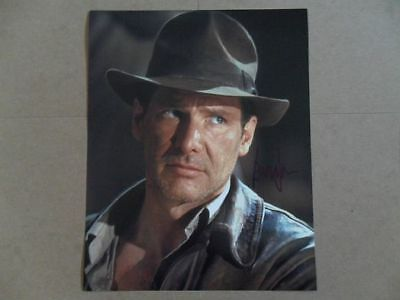 """Harrison Ford Signed -Autographed Photo """"Raiders of the Lost Ark"""""""