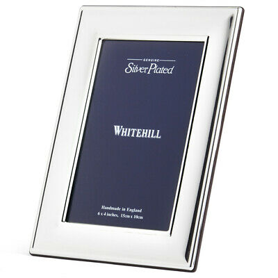 NEW Whitehill Plain Frame with Wooden Backing 10x15cm