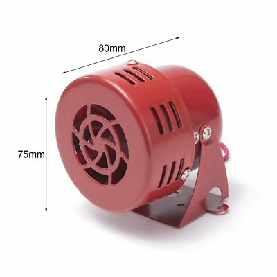 12V Motor Driven Air Raid Siren Horn Alarm 50's fit for Car Truck Motorcycl HK