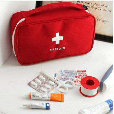 Portable Medicine Bag Multi-Layer First Aid Kit Outdoor Travel Rescue Bag HK