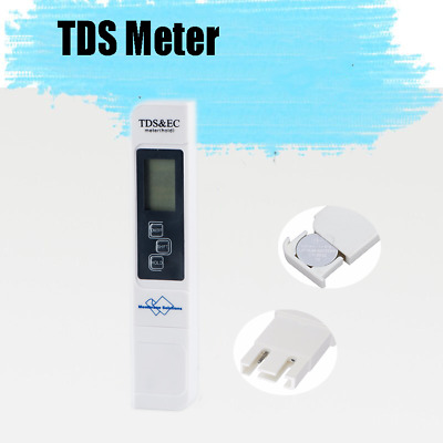 Purity Water Tester Meter Portable Chemical Lab PH Test Pen Meter Paper Strips