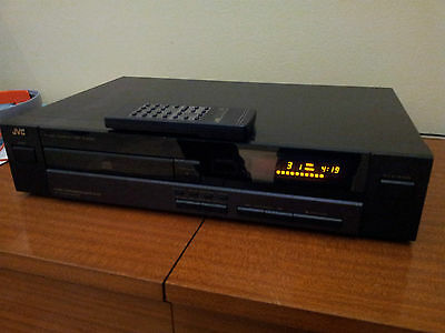 JVC XL-V221 CD Compact Disc Stereo Player with Remote Control and Manual