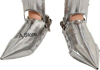 Steel Gothic Armor Shoes Wearable Replica Armor Costume