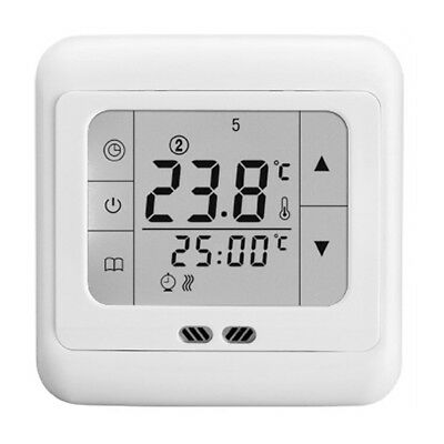 elektrisch touch screen thermostat raumthermostat. Black Bedroom Furniture Sets. Home Design Ideas