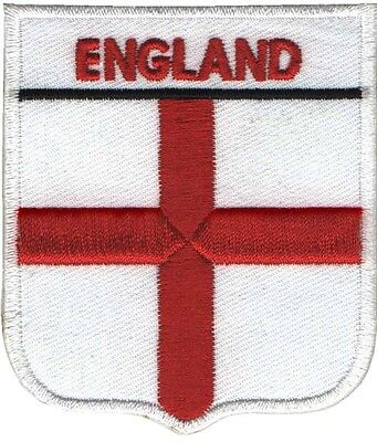 PARCHE bordado en tela BANDERA DE ENGLAND, EMBROIDERED PATCH
