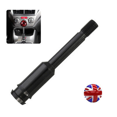 New Black Straight Gear Shifter Stick Lever Knob Extension For Volkswagen T4 UK