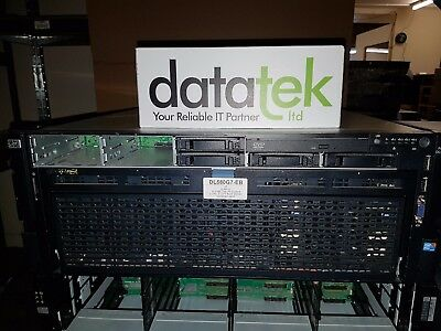 HP PROLIANT DL580 G7 4U RACK SERVER 2x X7560, 8GB, P410i/256MB, 2x 146GB