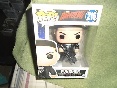 Funko Pops Vinyl NIP Marvel Daredevil 216 Punisher