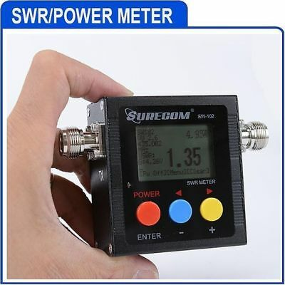 Sw-102N Surecom Digital Vhf/uhf Power Ros/watt & Swr Meter E Frequency
