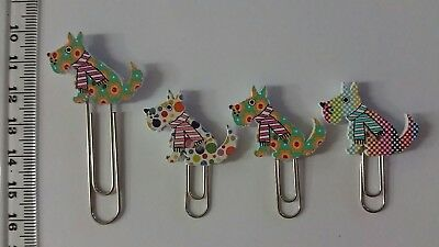 scottish terrier dog paper clips