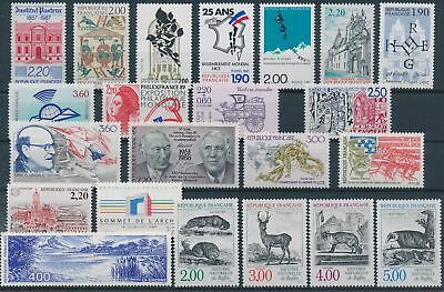 LH23293 France nice lot of good stamps MNH